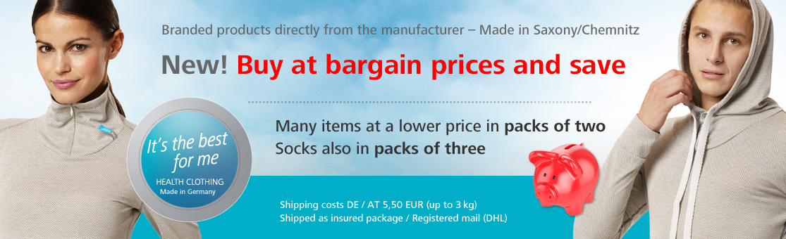 Buy at bargain prices and save
